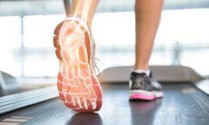 Treadmill Foot